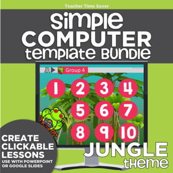 K-2 Technology Computer Lab Lesson Plans: Jungle Simple Co
