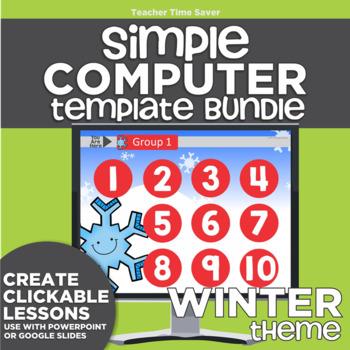 K-2 Technology Computer Lab Lesson Plans: Winter Simple Co