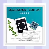 Measurement Math Centers- Technology Based