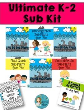 K-2 Ultimate Sub Plans Kit