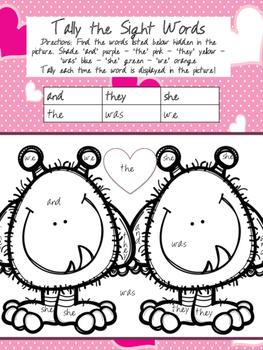K-2 Valentines Day Activities