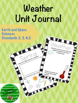 Second Grade Weather Unit Journal