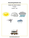 K-2 Weather for Students with Autism - Reading - Science