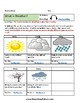 K - 2  Weather for Students with Learning Disabilities - Reading - Science