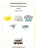 K-2 Weather for Students with Visual Impairments