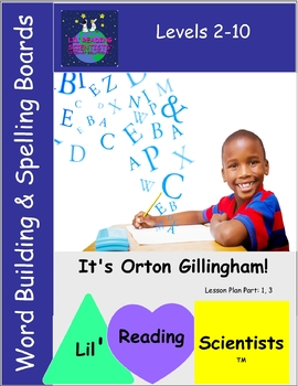 A Freebie!  Word Building/Spelling/Phonemic Awareness Character Boards