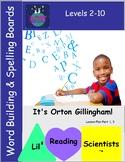 A Freebie!  Word Building/Spelling/Phonemic Awareness Char