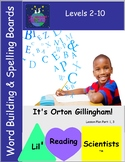 A Freebie!  Word Building/Spelling/Phonemic Awareness Char
