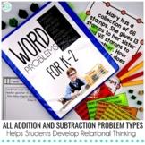 K-2 Word Problems Bundle -PRINT and DIGITAL