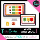 K-2nd CVC Medial Vowel I Interactive Google Slides **DIGITAL**