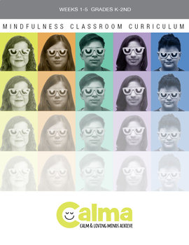 Calma Mindfulness Electronic Curricula complete with guided meditation audio