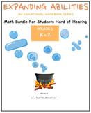 K-2 Grade Bundle for Students Hard of Hearing
