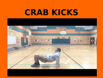 K - 2nd Grade Fitness Instant Activity #2