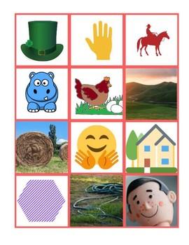 K-2nd Jungle Phonetic board game