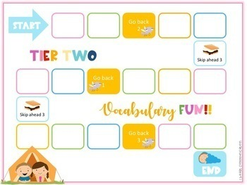 K-2nd Tier Two Vocabulary Mega Game Bundle