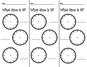 K-3 Daily Math Warm-Ups For the WHOLE YEAR