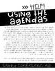 K-3 (EDITABLE!) Conference Agendas