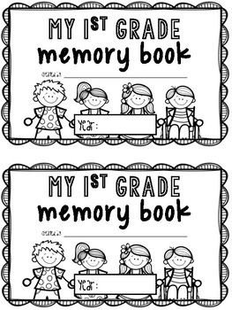 K-3 End of Year Memory Book