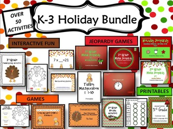 K-3 Holiday Activities