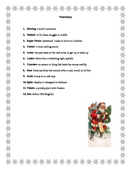 K-3 Holiday Literacy Pack (CCSS aligned)