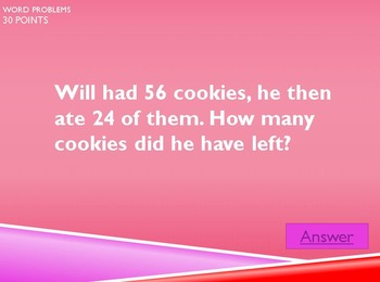 K-3 Jeopardy Bundle #2 (Valentine's Editions)
