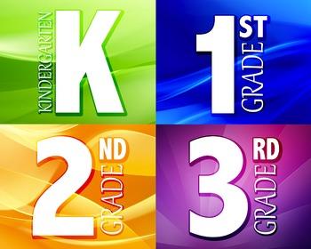 K-3 Labels