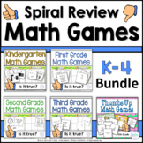 K-3 Math Games Bundle Thumbs Up Games