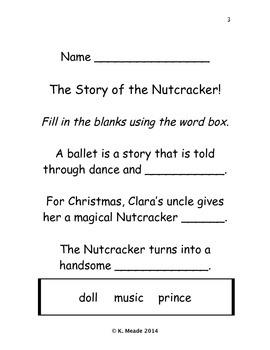 K-3 Nutcracker Activity Book