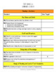 K-3 Ohio ELA Standards Checklists Bundle