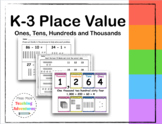 K-3 Place Value Worksheets