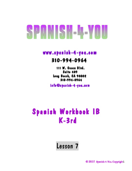 K - 3RD - LESSON 7 - NUMBERS 11 - 20