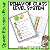 K-4 and middle school Behavior Classroom Level System