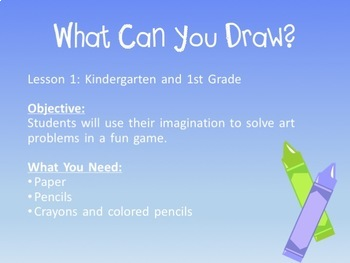 K-3 Easy Peasy  Art Sub Plans!