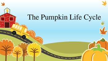 K-4 Life cycle of a pumpkin
