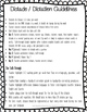 K-5 Differentiated Weekly Dictado / Dictation Forms Spanis