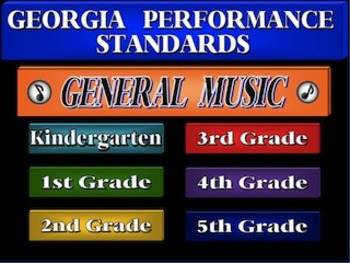 K-5 General Music Georgia Performance Standards