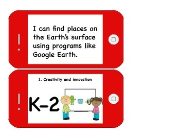 Technology I can statements for K-5 Computer Lab, Sample