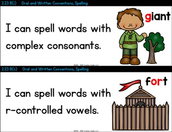 K-5 Language Arts TEKS - Can and Will Standards Statements