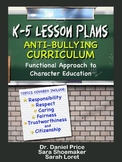 K-5 Lesson Plans: Anti-bullying Curriculum SAMPLE