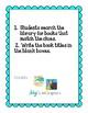 K-5 Library Book Scavenger Hunts