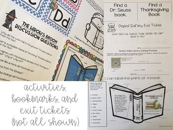 Elementary Library Lesson Plans K-5 (Weeks 3-9)
