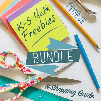 K-5 Math Freebies
