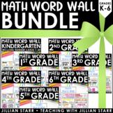 K-6 Math Word Wall Bundle (Common Core Aligned)