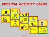 K - 5 Physical Activity Cards