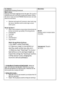 Physical Education Lesson Plans & Curriculum Bundle K-5 YEAR LONG PLANS
