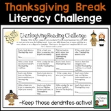 Reading Challenge- Thanksgiving