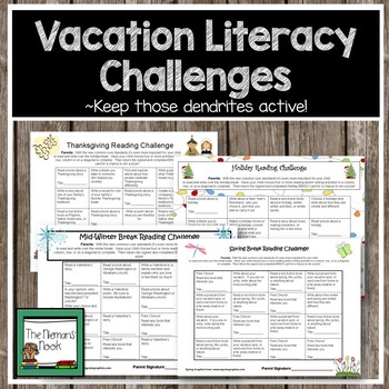 Reading Challenges-Bundled