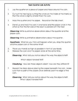 K-5 Science Lessons Part 2