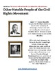 K- 5 th Grade U.S. Civil Rights Time-line For Students with ADD/ADHD
