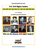 K- 5 th Grade U.S. Civil Rights Time-line for Gifted and T